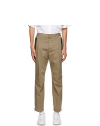 Givenchy Beige Travel Jogger Trousers