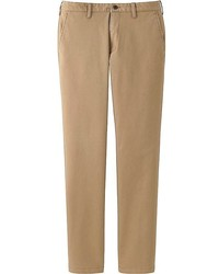 Uniqlo Blocktech Slim Fit Chino Flat Front Pants