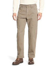 Prana Bronson Straight Leg Stretch Canvas Pants