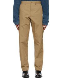 Maison Margiela Brown Cotton Chino Trousers