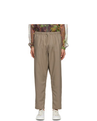 South2 West8 Brown String Trousers