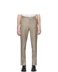 Tiger of Sweden Brown Wool Todd Trousers