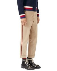 Gucci Brushed Cotton Chino Pants
