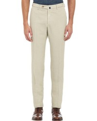 Incotex Chinolino Trousers Yellow