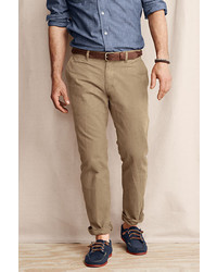 Lands' End Comer 628 Straight Fit Chino Pants