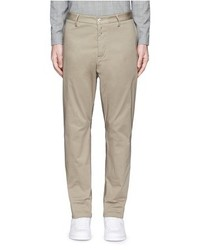 Oamc Contrast Inseam Cotton Chinos