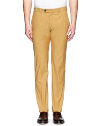 Armani Collezioni Darted Cotton Blend Chinos