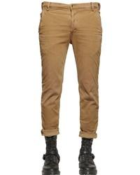 Diesel 17cm Slim Herringbone Denim Chino Pants