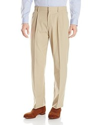 Dockers Prestige Khaki Classic Fit Pleat Pant