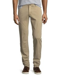 Jacob Cohen Flat Front Stretch Chino Pants
