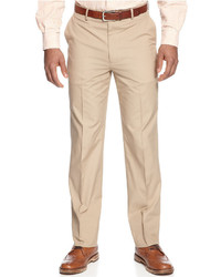 Tommy Hilfiger Khaki Cotton Classic Fit Pants