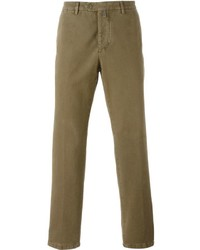 Kiton Slim Washed Chinos