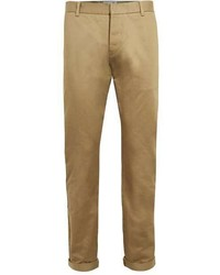 Topman Ltd Tan Smart Twill Chinos