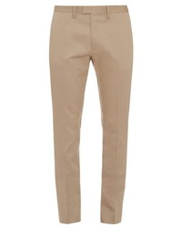 Acne Studios Max Satin Slim Fit Chino Trousers