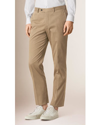 Burberry Modern Fit Cotton Chinos