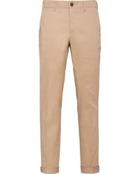 Prada Pleated Detail Slim Fit Trousers