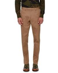 Valentino Rockstud Untitled Chino Trousers Beige