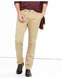 Express Skinny Flex Stretch Light Brown Chino Pant