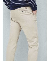 Mango Outlet Slim Fit Canvas Chinos
