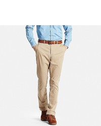 Uniqlo Slim Fit Chino Flat Front Pants