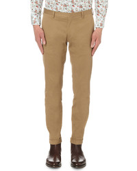 Paul Smith Slim Fit Cotton Twill Trousers