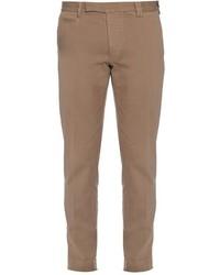 Fendi Slim Leg Stretch Cotton Chino Trousers