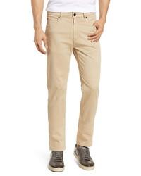 Bugatchi Slim Straight Leg Five Pocket Pants