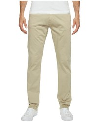 Calvin Klein Jeans Slim Straight Stretch Sateen Pants Casual Pants