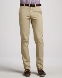Theory Stretch Chino Pants Beige