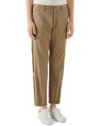 Gucci Stripe Cotton Pants