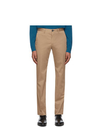 Ps By Paul Smith Tan Chino Slim Trousers