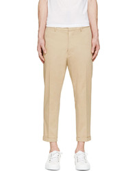 DSQUARED2 Tan Hockney Fit Chinos