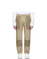 Moncler Tan Sportivo Trousers