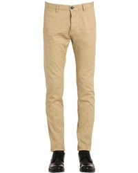 DSQUARED2 Tidy Stretch Cotton Drill Chino Pants