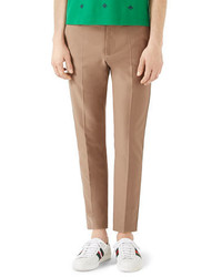 Gucci Tipped Cotton Chinos