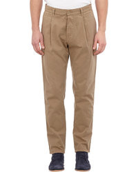 Dolce & Gabbana Twill Pleated Chinos