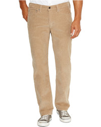 Levi's 514 Straight Leg Corduroy Pants True Chino Wash