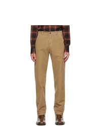 Dries Van Noten Brown Corduroy Trousers