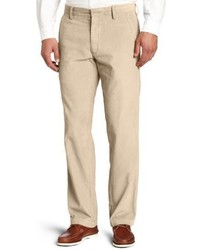 Haggar Life Khaki Corduroy Plain Front Chino Pant