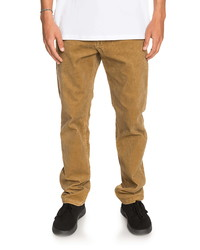 Quiksilver Kracker Straight Fit Corduroy Pants