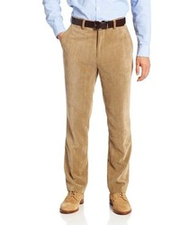 Khaki Corduroy Dress Pants