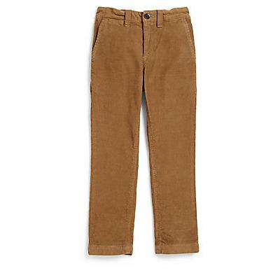 Burberry Boys Corduroy Pants Tan | Where to buy & how to wear