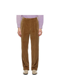 Gucci Tan Cotton Corduroy Trousers