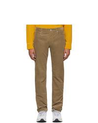 A.P.C. Beige Corduroy Petit Standard Jeans