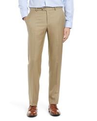 Hickey Freeman B Series Honeyway Relaxed Fit Dress Pants