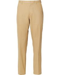 J.Crew Beige Ludlow Cotton Suit Trousers