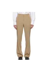 Wooyoungmi Beige Twill Trousers