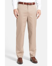 Nordstrom Men's Shop Classic Smartcare Relaxed Fit Cotton Pants