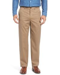 Nordstrom Men's Shop Classic Smartcare Relaxed Fit Cotton Pants