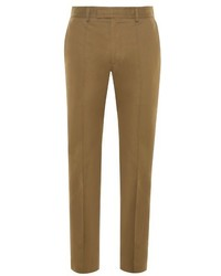 Valentino Contrast Panel Straight Leg Trousers